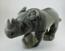Wb2 Rhinoceros signature endangered species edition Plush Webkinz african black