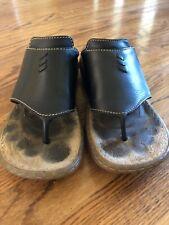 Dr Martens Black Thong Sandals Wide Strap UK 5 US ~7.5