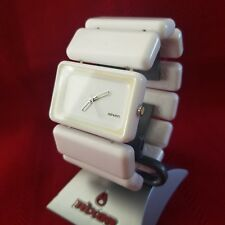 "Nixon ""The Vega"" (White w/ Logos) 30M 3-Hand Japanese Movement [7E]"