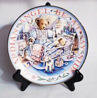 Royal Doulton Teddy's Guardian Angel Bear Limited Edition Plate Franklin Mint