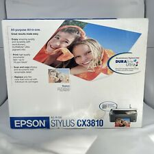 EPSON STYLUS CX3810 All Purpose All In One Printer Print Scan Copy - NEW SEALED