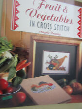 BELLISSIMO Cross Stitch frutta e verdura Cross Stitch Pattern BOOK un BEAZLEY