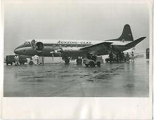 HUNTING CLAN VICKERS VISCOUNT LARGE PHOTO