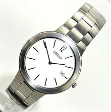 Seiko Herrenuhr Armbanduhr Edelstahl Datum  analog   NEU