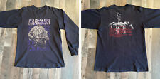 CARCASS Necroticism 1992 LS XL shirt - Rare Vintage Long Sleeve - Entombed Grave