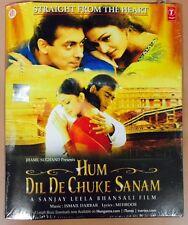 Hum Dil De Chuke Sanam - Original Bollywood OST Audio CD / Brand New