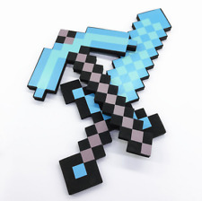 Minecraft Pixel Gun Sword Pickaxe Weapons Building Game Toy Weapon Props Gifts