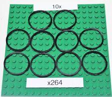 Gummiringe für LEGO Technik ( x264) Rubber Band-Schwarz - 10 Stück
