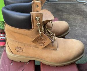 Brown / Tan Timberland boots men 10