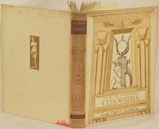 OSCAR VON WERTHEIMER CLEOPATRA ANTICA ROMA ANCIENT ROME PLANCHES STORIA