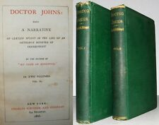 1866 Doctor Johns Narrative of Events Life of Orthodox Minister in Connecticut