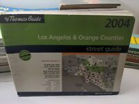 2004 Thomas Guide Los Angeles & Orange Counties Street Guide Directory SHIPS FRE
