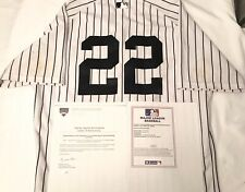 NEW YORK YANKEES JACOBY ELLSBURY GAME USED JERSEY APRIL 29 2015 STEINER MLB AUTH