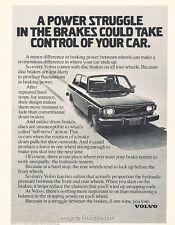 1975 1974 Volvo 142 Original Advertisement Print Art Car Ad J615