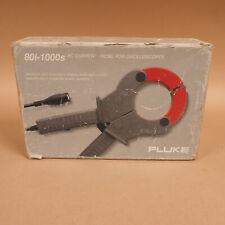 Fluke 80i 1000s Ac Current Probe For Oscilloscopes W Box Manual