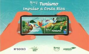 Costa Rica UPAEP Turismo MNH 2021