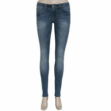 Cotton Mid-Rise Slim, Skinny Jeans for Women