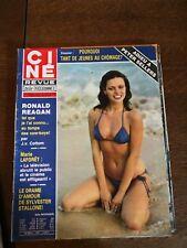 Journal Ciné Revue Sally Nicholson magazine n°31/année 70-80/journal vintage