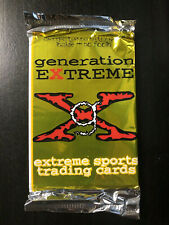 Generation Extreme, Extreme Sports Card Pack Unopened (1994)