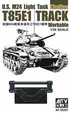 AFV Club 1:35 Scale T85E1 TRACK for U.S. M24 Light Tank (Workable) AF35287