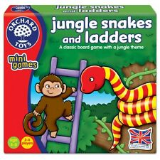 Orchard Toys Jungle Snakes and Ladders Classic Board Game