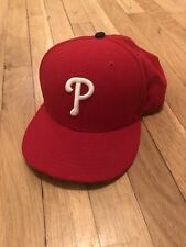 Philidelphia Phillies New Era 59Fifty Fitted Hat - Size 7 5/8