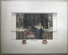Gerlachs Allegorien, Gerlach Wien, Jugendstil Drucke, Jugendstil, Julius Diez