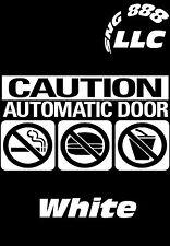 2 Automatic Door vinyl STICKER sign Rideshare Uber Lyft car,window