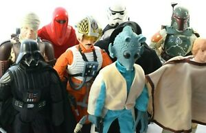 """Star wars 12"""" Action Figure Selection - Please See Photos to make your choice!"""
