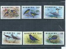 Barbuda stamps. 1976 Birds set MNH (J948)