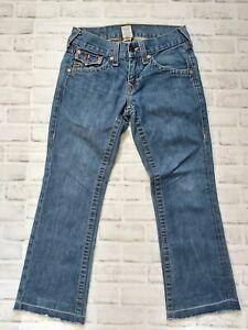 True Religion Flap Pocket Jeans Mens size 28 EUC