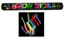 Glow Sticks (15 Pieces) Bright Assorted Colours (Party/Rave/Night/Festival)