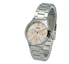 -Casio LTPV300D-4A Ladies' Metal Fashion Watch Brand New & 100% Authentic