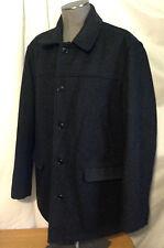 Men's J Crew Charcoal Gray Classic University Jacket Coat Wool XL Trad Ivy