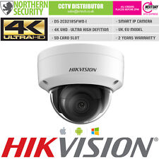 Hikvision 4K Uhd 6Mm 8Mp Megapixel Poe Exir Sd-Card Smart Mini Dome Ip Camera