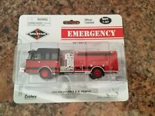 Ho Scale 1/87 Boley Fire Department Truck Red Die Cast Emergency NIB 2200-13