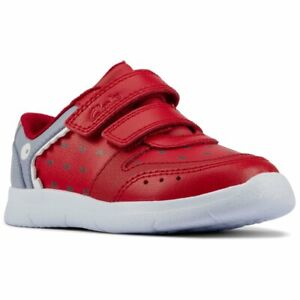 Clarks Ath Scale T Boys Infant Sports Trainers