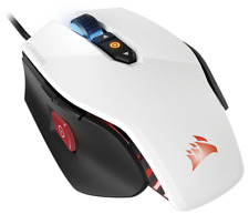 Corsair Gaming PRO M65 RGB Laser Gaming Mouse PC 12000DPI White CH-9300111-EU