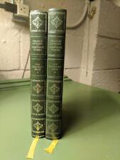 Old Curiosity Shop - Charles Dickens - Vol. 1&2 - Hardcover - 1968 - VG - Heron