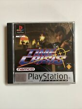 TIME CRISIS - Playstation Platinum PS1 game - PAL AUS With Instruction Manual