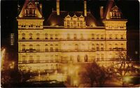 Vintage Postcard - Center Of State Buildings Albany Capital New York NY #4116