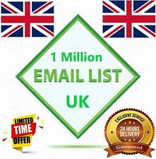 1 Million Business Database Email List for Marketing UK & USA Targeted Email