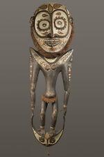 Grand crochet iatmul, food hook, art tribal papou, oceanic tribal art