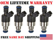 Set of 4 Genuine Rochester Fuel Injectors for Saturn 1996-01 SL2 SC2 SW2 1.9L I4