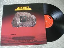 """Alcatrazz – """"No Parole From Rock 'N' Roll""""   Japanese  LP Polydor – 28MM 0320"""