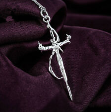 K Project The Sword of Damocles Necklace Pendant 925 Silver Cosplay Gift S