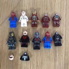 Paquete De Lego Lote De Trabajo Marvel Los Vengadores Superhéroe Mini Figura Minifiguras