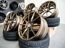 19 Zoll Motec Ultralight 5x120 Bronze für BMW M Performance Paket F10 F11 F30 M1