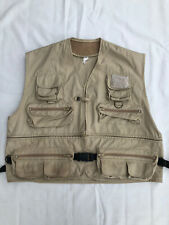 Fishing Vest Jacket Size XXL Multi Pockets Zip Off Section FAST SHIPPING  AUS