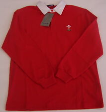 REEBOK WELSH RUGBY UNION JUNIOR RUGBY JERSEY/SHIRT